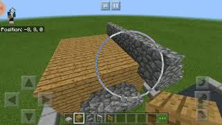 Minecraft How to make House - Basic House บ้านธรรมดา