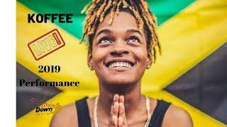 Koffee Toast Performance At Bob Marley Museum WineDown For charity