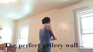 The perfect gallery wall in 4 totally doable steps!