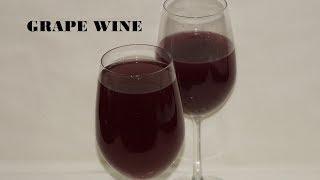 മുന്തിരി വൈൻ വീട്ടിൽ ഉണ്ടാക്കാം | Red wine / Grape wine | Nimshas Kitchen