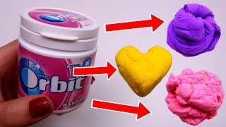 Slime din Guma de Mestecat Fara Lipici - How To Make Slime With Chewing Gum