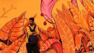 Lodhi Colony wall Arts Vlog - Delhi ???????????? | wall Painting | AmarRaj
