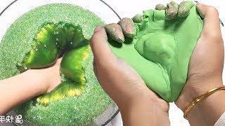 Slime ASMR - Most Satisfying Slime Video - Crunchy Slime, Iceberg Slime, Jiggly Slime, Rainbow Slime