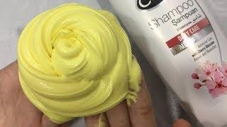 DIY Slime With Flour and Shampoo!! No Glue, No Borax! MUST TRY! Slime DIY