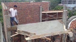 Building A House Step By Step - How To Build Small Roof