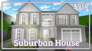 Bloxburg - Suburban House Speed-build