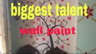 Biggest talent wall paint by Nazim