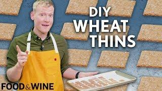DIY Wheat Thins | Mad Genius | Food & Wine