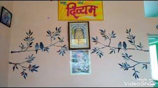 """Best out of Waste"" Wall Decoration idea, house / room decoration idea....free of cost...."