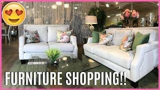 FURNITURE SHOPPING FOR OUR HOUSE!!!