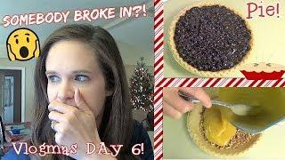 Day In The Life! | Baking Pies & An Intruder In The House?!