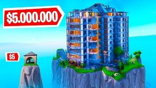 BUILD THE BEST HOUSE CHALLENGE in FORTNITE!