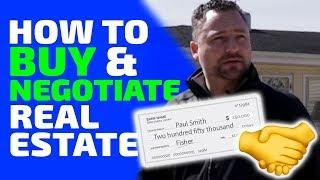 How to buy and negotiate real estate   Flipping houses   In The Life 120