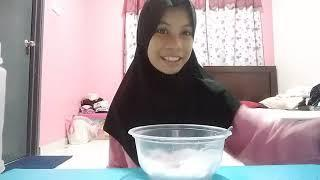 How to make slime|part 3-7|fluffy slime malay|(read description)
