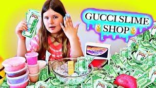 I AM RICH AGAIN! ~ GUCCI SLIME SHOP! Life of a Slime Scammer Funny Slime Skit