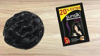 How to make Slime with Sunsilk Shampoo and Salt (no borax, no glue)!! WORK or NOT with 100% PROOF