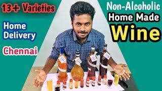 Home Made Wine Delivery in Chennai || Once upon a Wine || Chennai Vlogger Deepan - Tamil