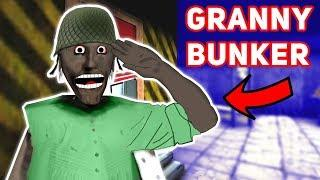 Granny's House BECOMES A CRAZY UNDERGROUND BUNKER!!! | Granny The Mobile Horror Game (Mods)