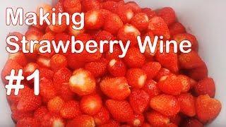 딸기와인 만들기 작업과정 기록#1 _ Making Strawberry Wine#1