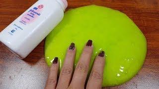 DIY Baby Powder Slime