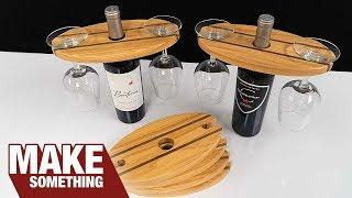 How to Make a Wine Display | My Best Seller at Craft Shows!