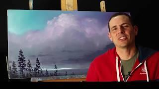 FREE Painting tips and tricks with Tim Gagnon - How to paint a fir tree