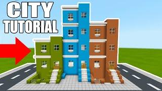 Minecraft Tutorial: How To Make A Town House (2019 City Tutorial)