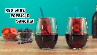 Red Wine Popsicle Sangria - Tipsy Bartender