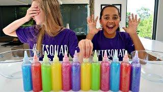 3 COLORS OF GLUE SLIME CHALLENGE!! New Colors Edition