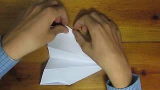 How to make a long distance paper airplane.