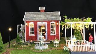 DIY lovely beautiful house using cardboard Full-Step