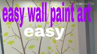 Easy wall paint by Nazim