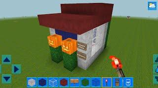 AdventureCraft 3D Block Building & Survival Craft Gameplay #45 (Android) | Summer House