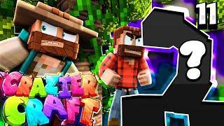 """THIS MASSIVE MOB DESTROYED MY HOUSE"" |  Minecraft Crazier Craft SMP Episode 11"