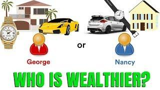Does a Big House and Fast Car Make You Wealthy