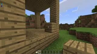 How to make an oak wood house in minecraft