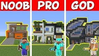 Minecraft Noob Vs Pro Diamond House Vs Dirt House