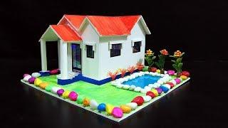 DIY How to Make Colourful Garden House with Pool