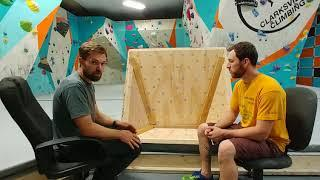 Talk tips and tricks about big volumes for the climbing wall