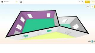 09 Instructional 3D Room Planner Tool: Adding paint to walls