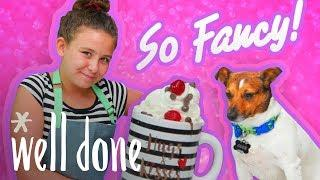 How to Make Dog-Friendly Chocolate Mug Cake | So Fancy | Well Done