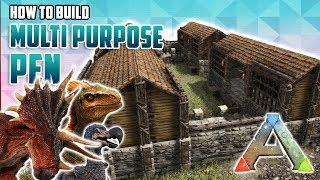 How To Build A Multi Purpose Pen | Ark Survival Evolved