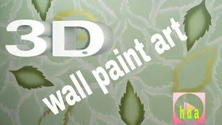 3d wall paint art Nazim