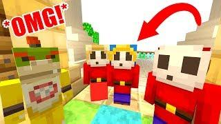 *OMG* GILL HAS PARENTS!?! | Nintendo Fun House | Minecraft Switch [284]