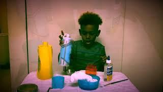 How to make slime! No borax, kid safe ???? 3 ingredients!