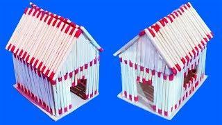 How To Make Matchstick House | Match Sticks Crafts Ideas | Matchstick House Craft