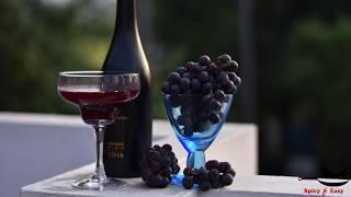 RED WINE within 14 days |  GRAPE WINE Recipe | How to make Easy Homemade Wine PART - 2