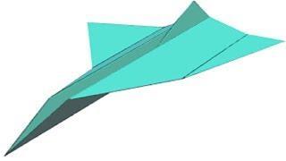 Kağıt Uçak Nasıl Yapılır (Şahin Modeli)
