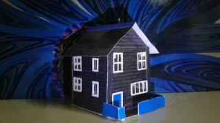 beautiful house cardboard house by mr. mini house