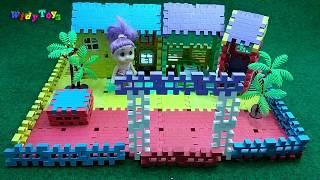 Funny Blocks How To Make A Modern Minimalist House    I Widy Toys